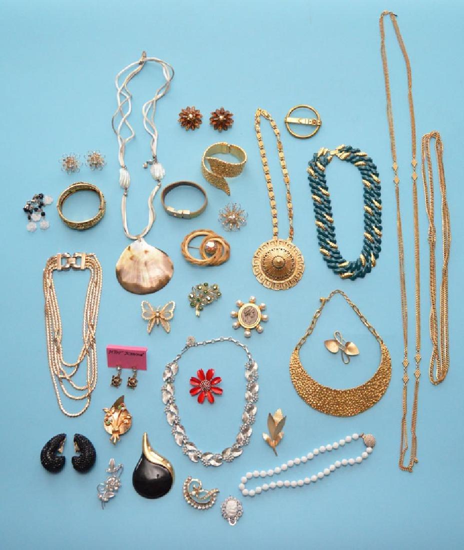Lot of Designer Costume Jewelry (Haskell, Coro)