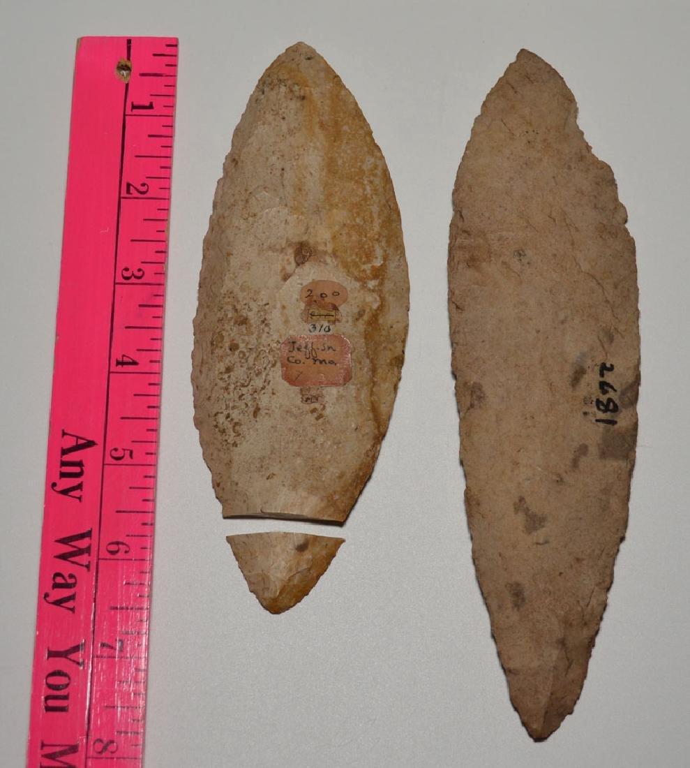 Native American Adena Blade / Turkey Tail Fulton