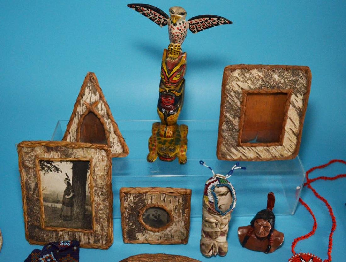 Lot of Vintage Native American Collectibles - 2