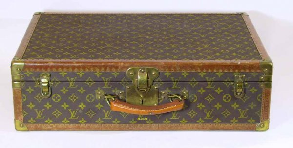 5: Estate Fresh Vintage Small Louis Vuitton Suitcase