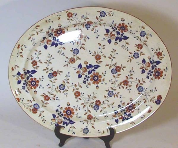 "159: 34 Pcs 19th Century Ridgway China  ""Persia Pattern - 10"