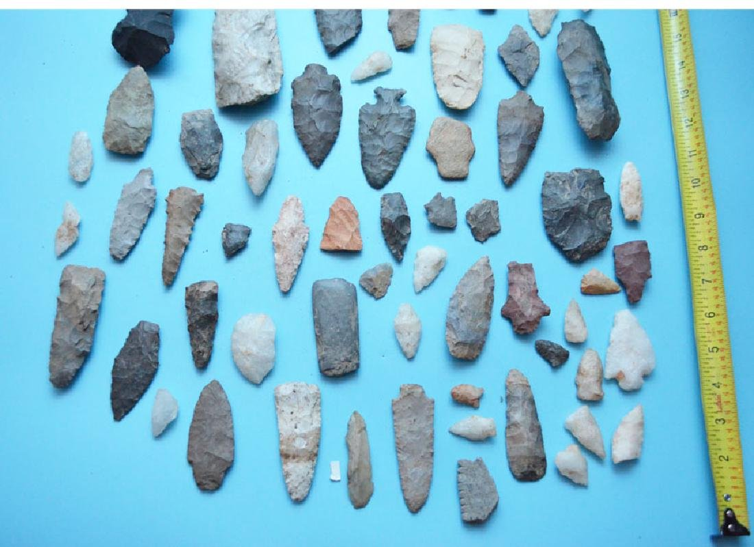 Large Ancient Unusual Native American Arrowheads