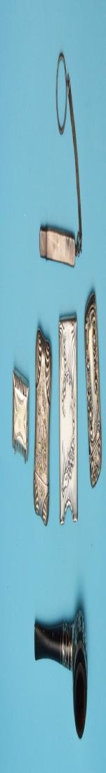 Collection of Vintage Sterling Match Safes & - 3