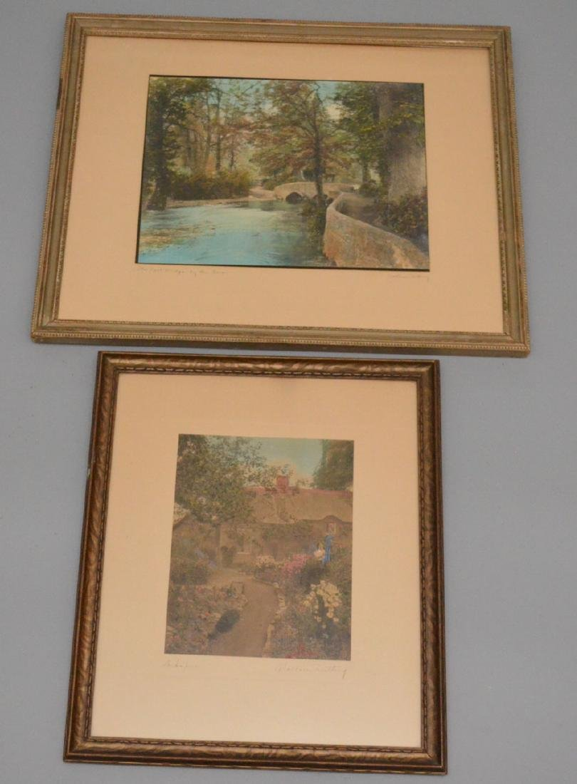 2 Larger Size Wallace Nutting Prints