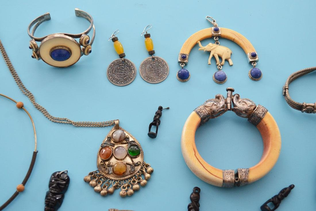 Lot of Antique Ethnic Jewelry - 2