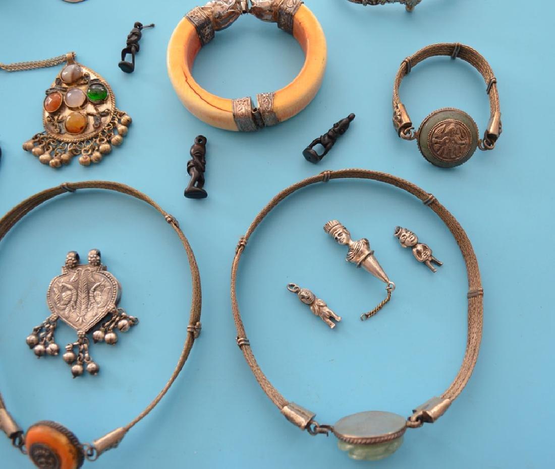 Lot of Antique Ethnic Jewelry - 4