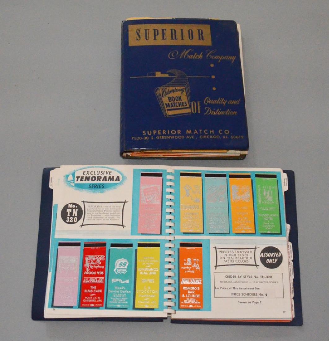 2 Vintage Match Company Catalogs