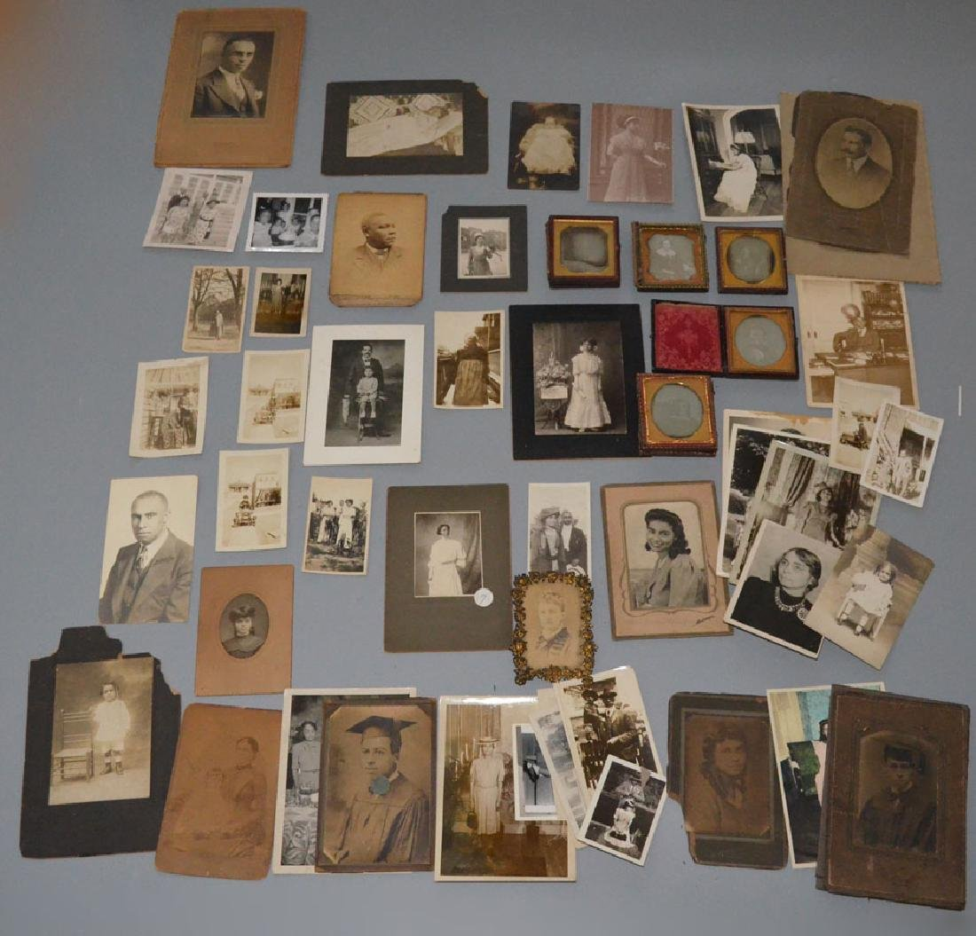 Lot Of Tintypes And Antique And Vintage Photographs