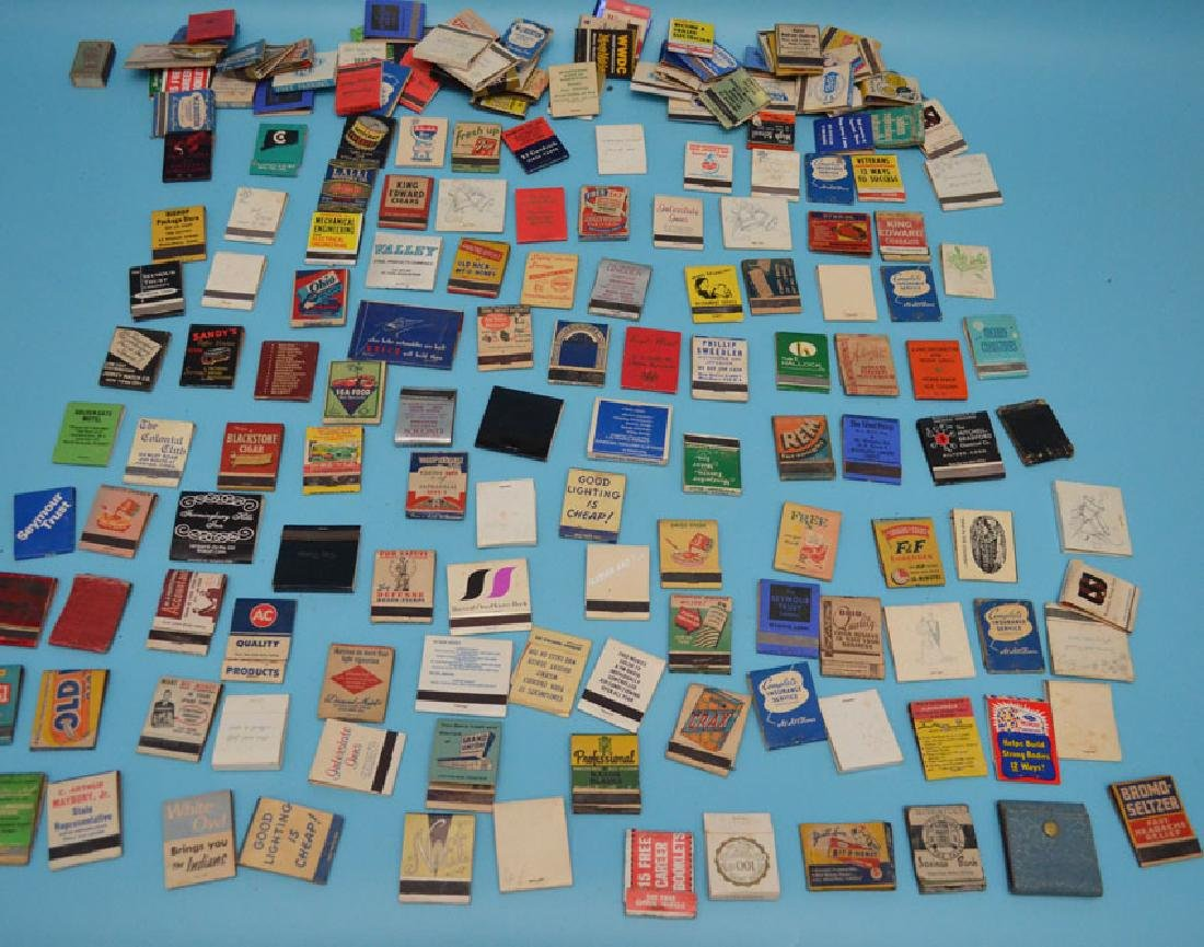 Large Lot Of Vintage  Matchbook Covers
