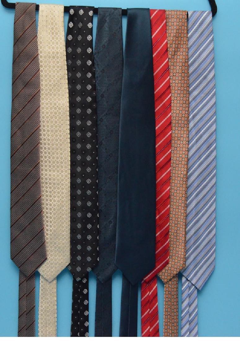 Lot Of 8 Designer Brioni Ties - 2