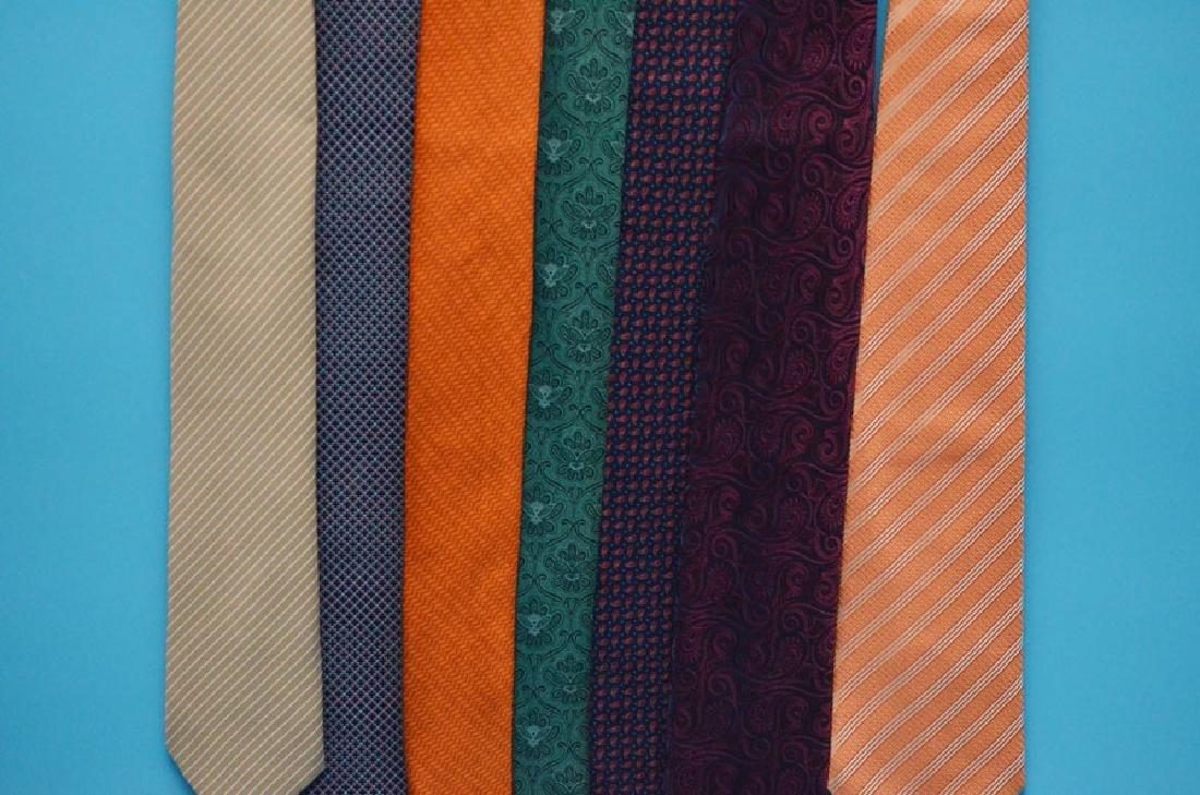 Lot Of 7 Designer Brioni Ties - 2
