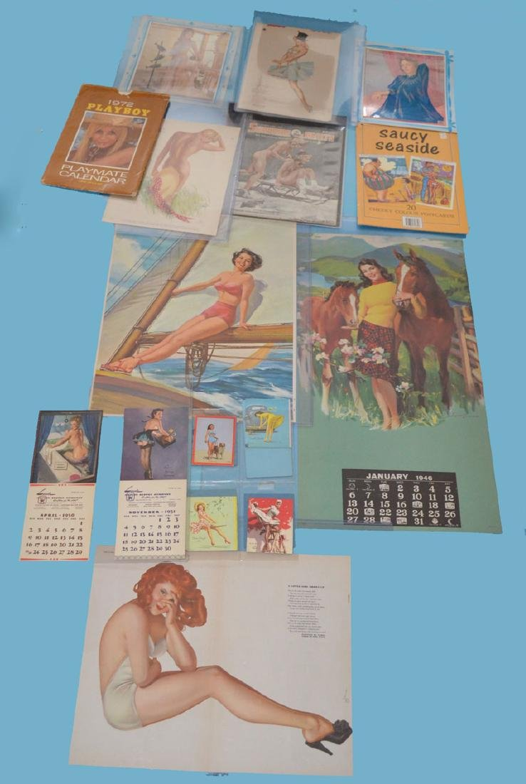 Lot of 1940s & 50s Pinup Girls