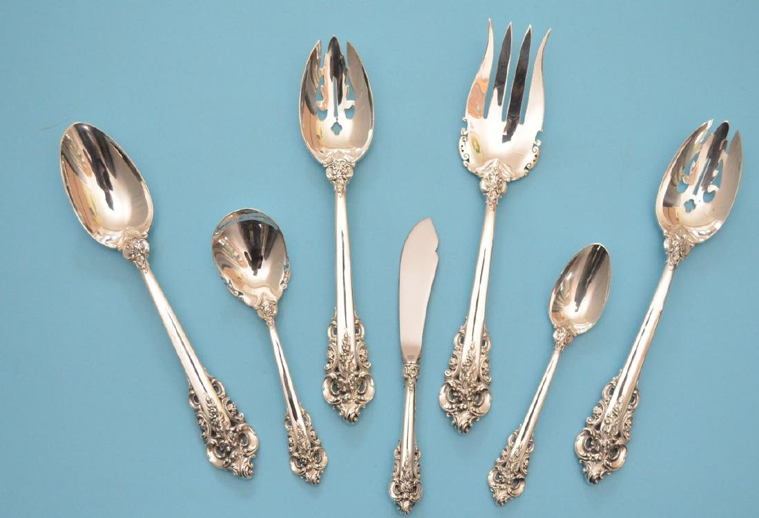 14 pc Wallace Grande Baroque Serving Set