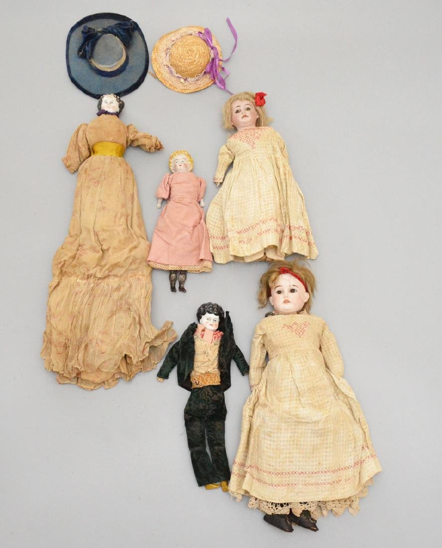 Collection of Antique Dolls - 2