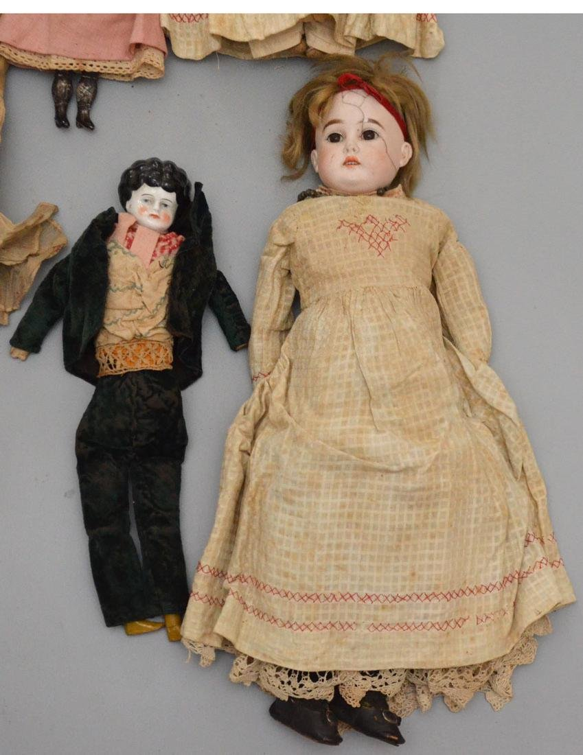 Collection of Antique Dolls - 3