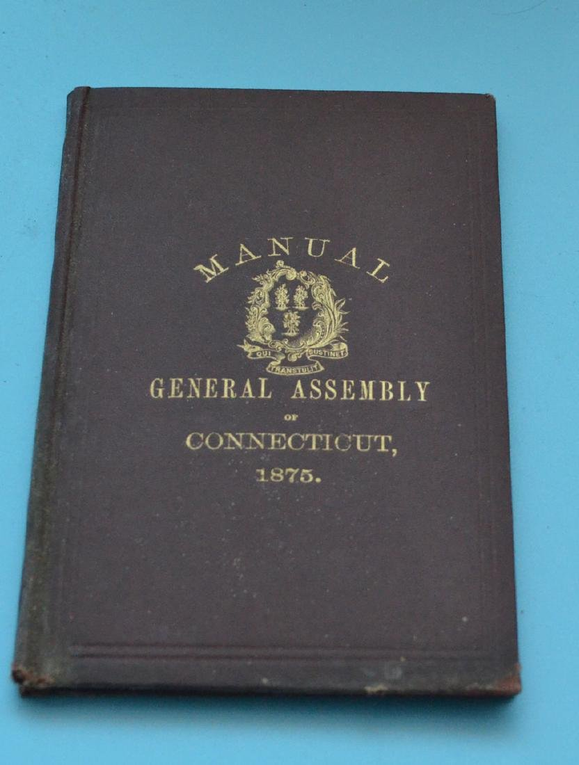Lot of Antique New Haven Co Connecticut Books - 2