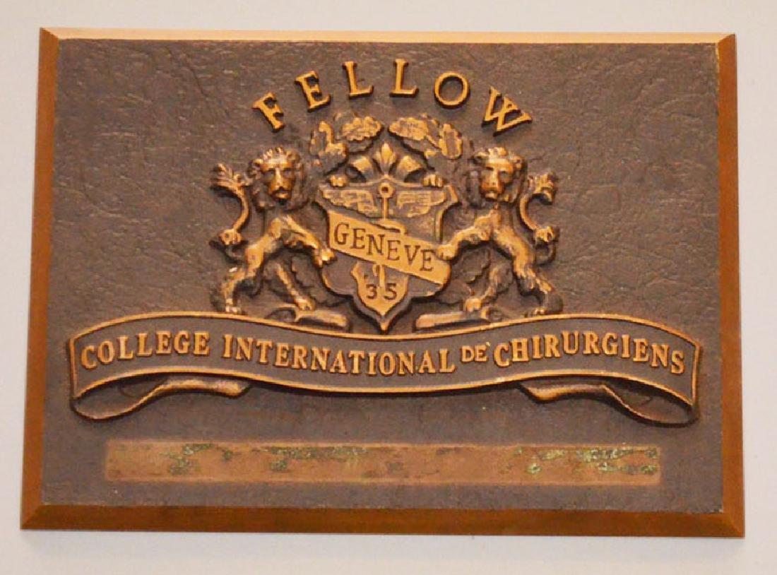 Fellow College International de Chirurgiens Bronze