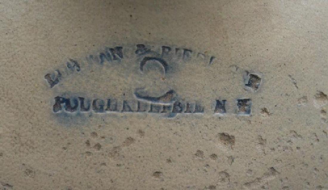 Riedinger Poughkeepsie Blue Painted Stoneware Jug - 3