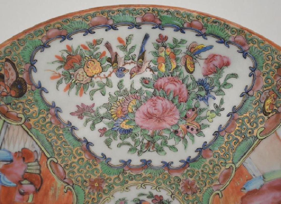 Antique Rose Medallion Charger / Bowl - 3