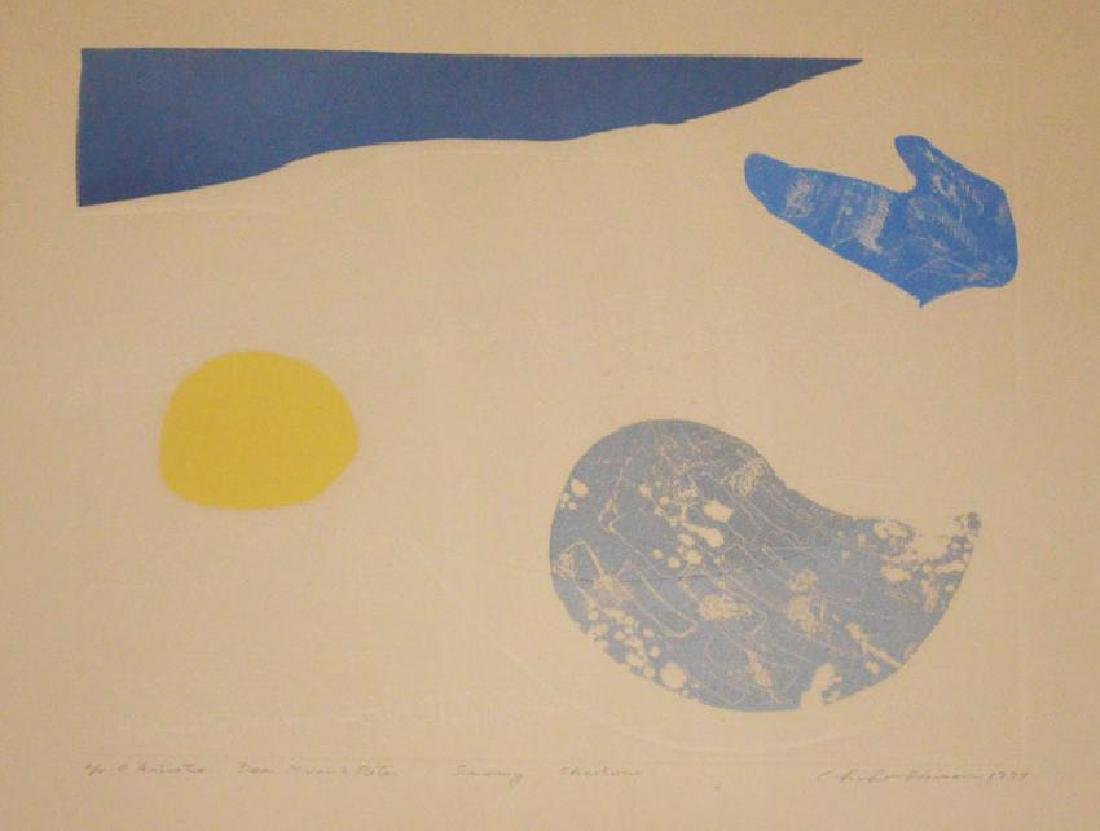 2 Akiko Shirai Signed Lithographs - 2