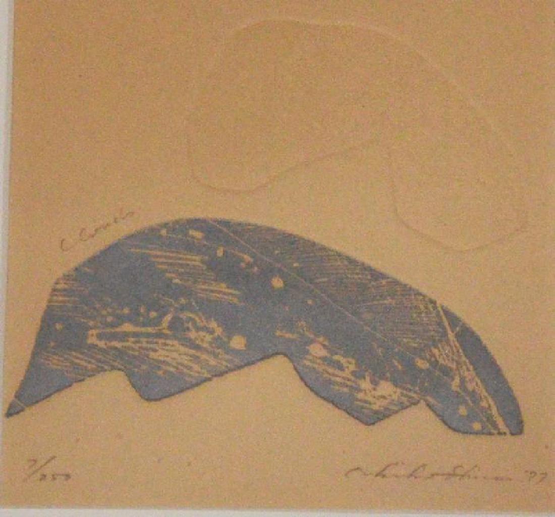 2 Akiko Shirai Signed Lithographs - 3