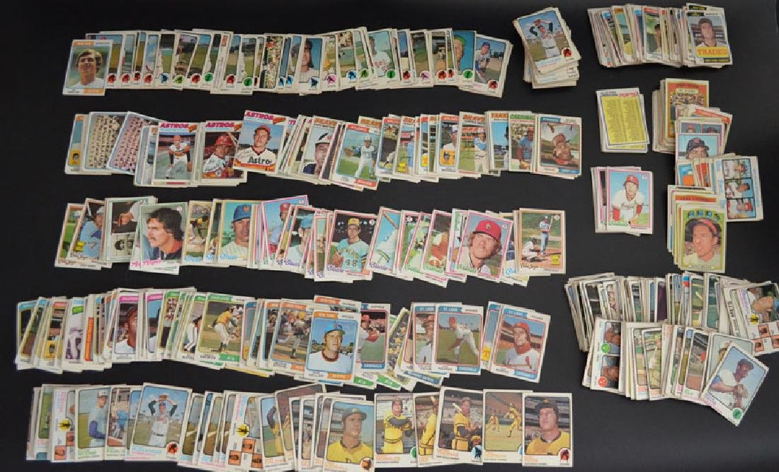 Lot of 1970s Baseball Cards