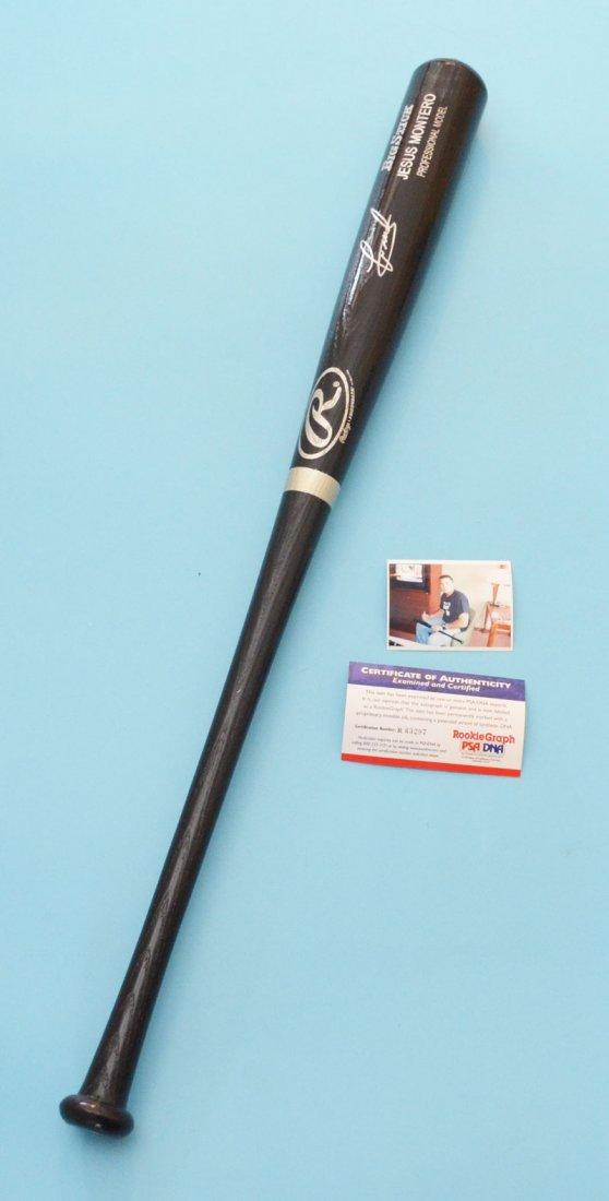 Jesus Montero Signed / Autographed Baseball Bat