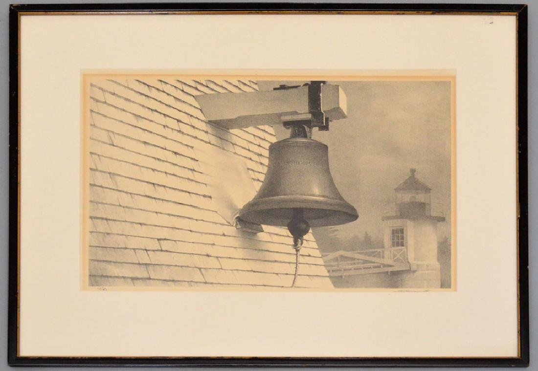 Stow Wengenroth Litho  Of A Bell