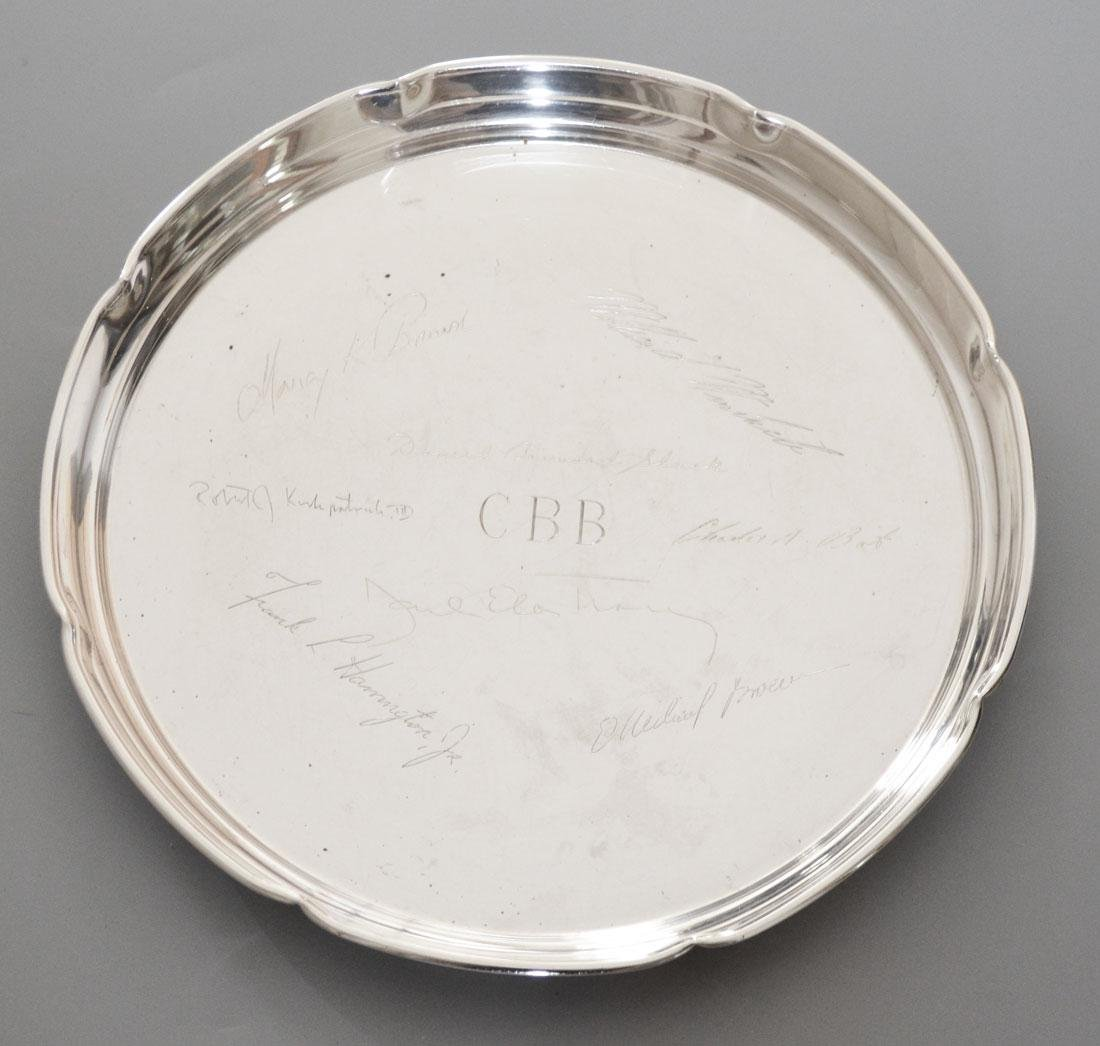 Large Randahl Sterling Silver Serving Tray