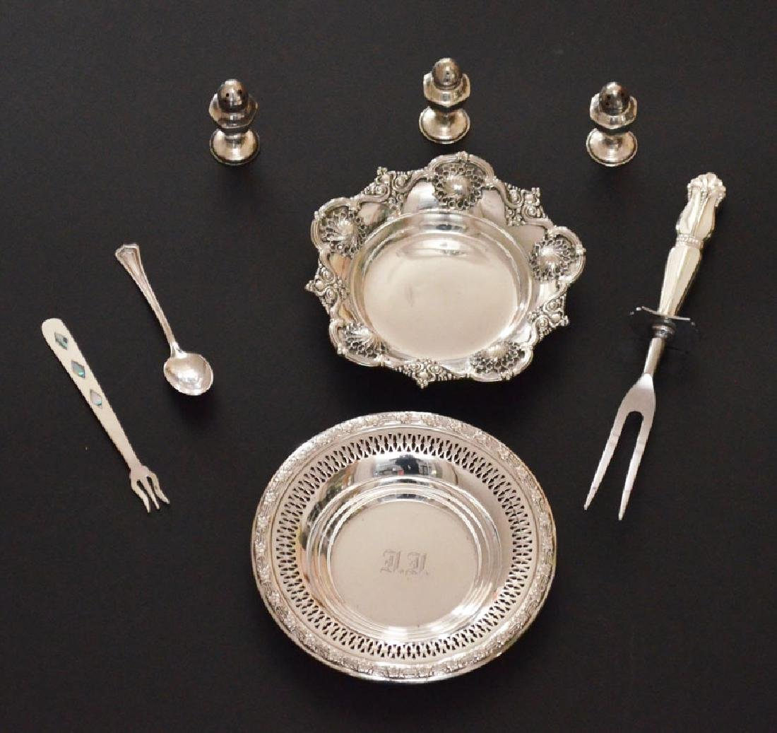 Lot of Nice Sterling Silver Table Accessories
