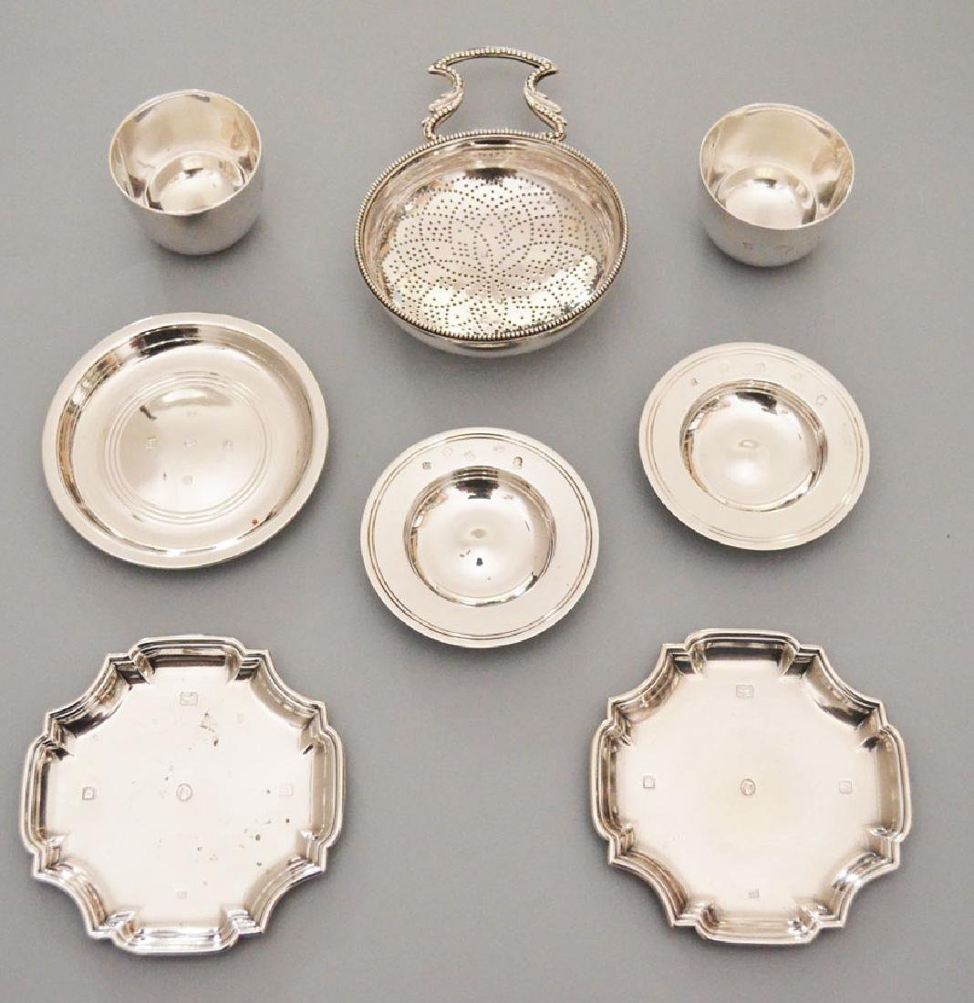 Lot Of Vintage English Sterling Silver Accessories
