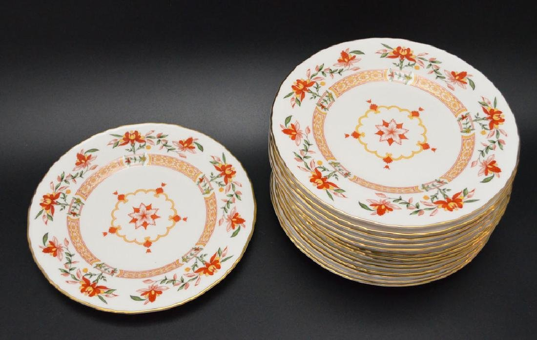 16 Royal Worcester Chamberlain Plates