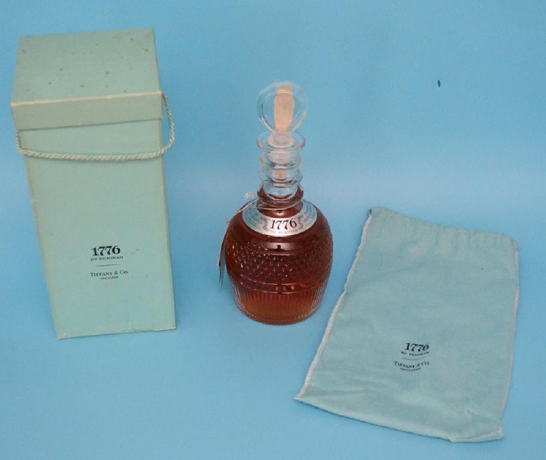 Tiffany Seagram's 1776 Anniversary Bottle