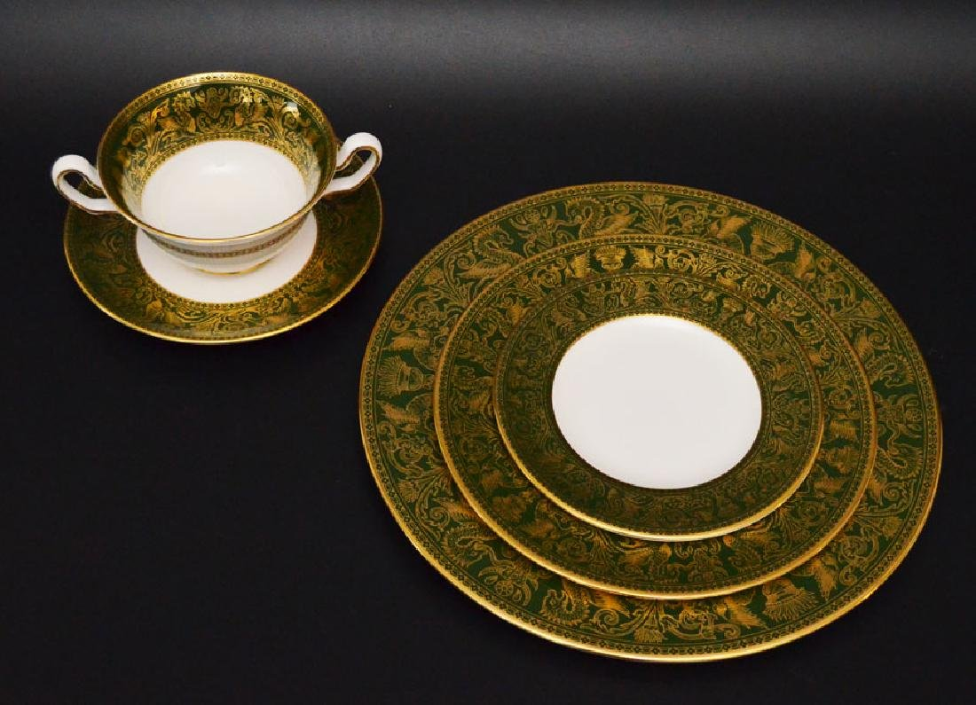 Partial Wedgwood Florentine Dinner Service