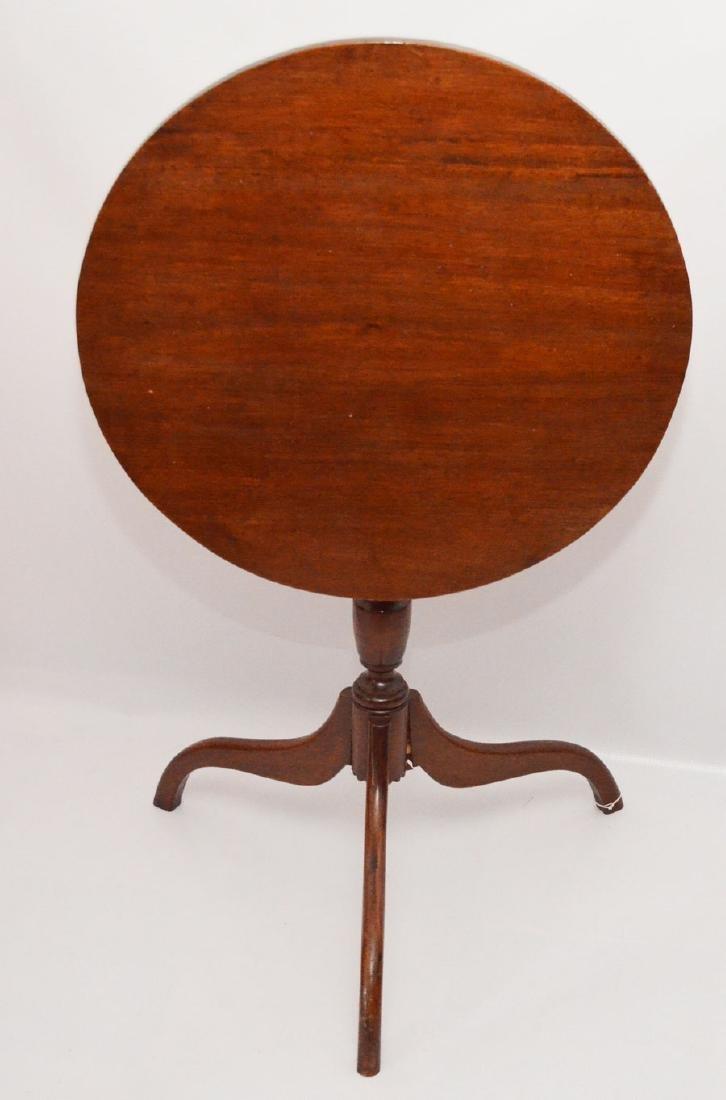 Handsome Mahogany Tilt Top Table