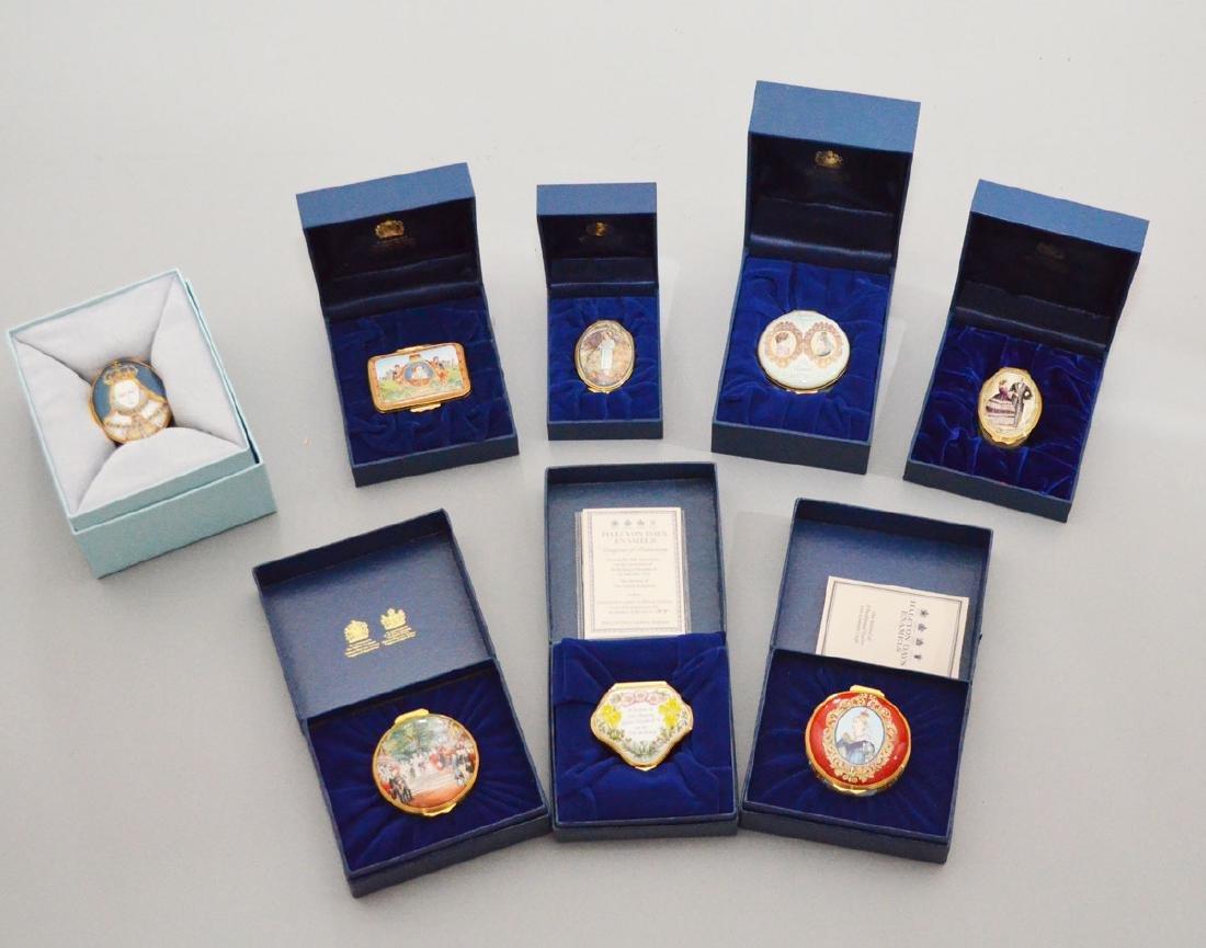 8 Royal Themed Halcyon Boxes ( Elizabeth / Victoria