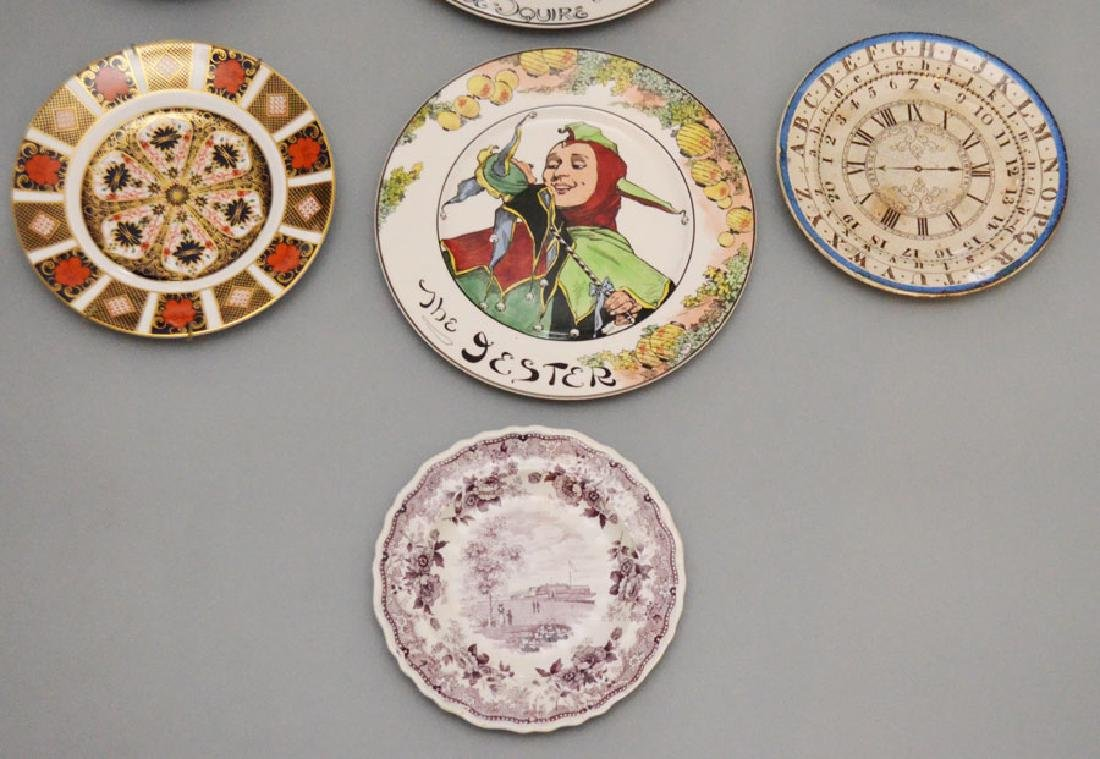 Lot of China Plates (Doulton, Derby, Wedgwood) - 3
