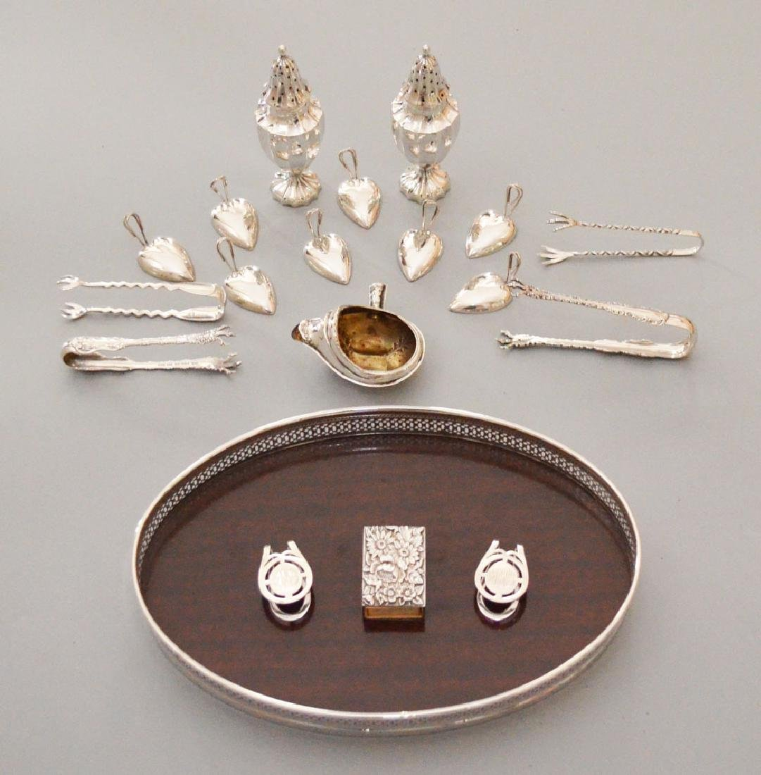 The Best Lot Of Sterling Silver Small Accessories