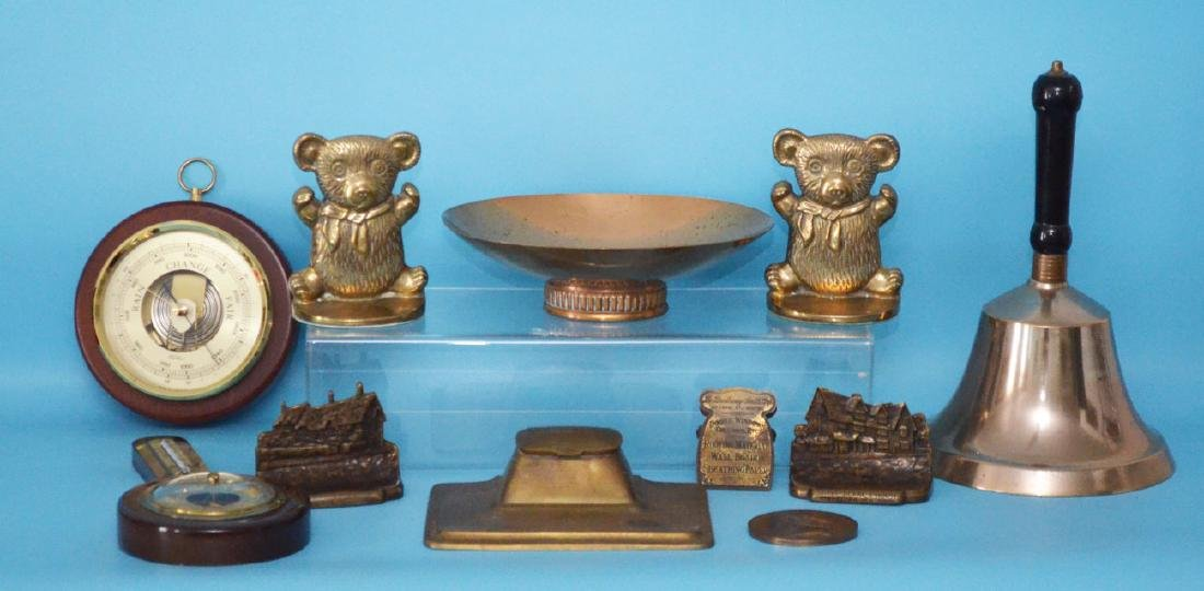 Lot of Bronze, Brass And Iron Accessories