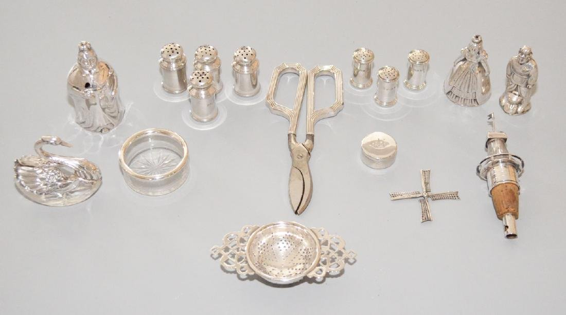 Lot Of Very Interesting Sterling Silver Accessories