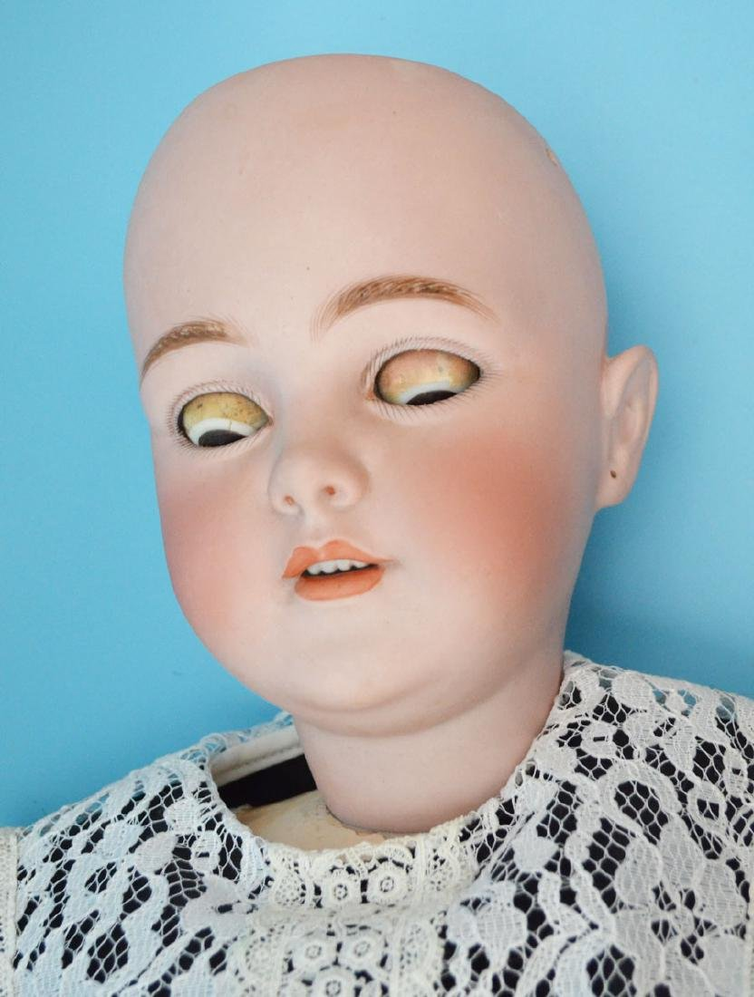 Large Porcelain Head Simon & Halbig #1269 Doll - 4