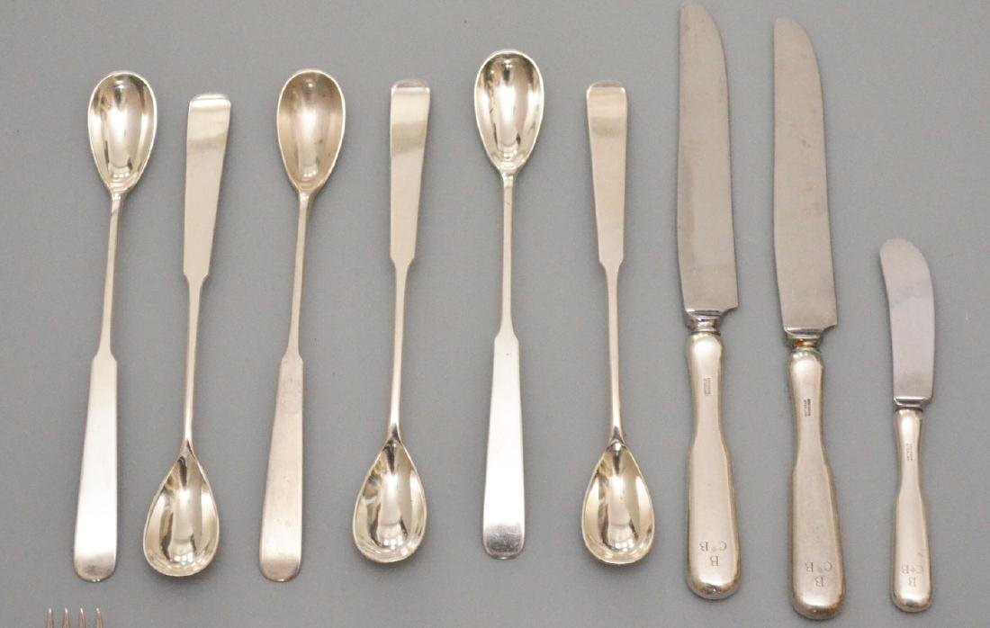 Large Grouping of Erikson Sterling Flatware - 2