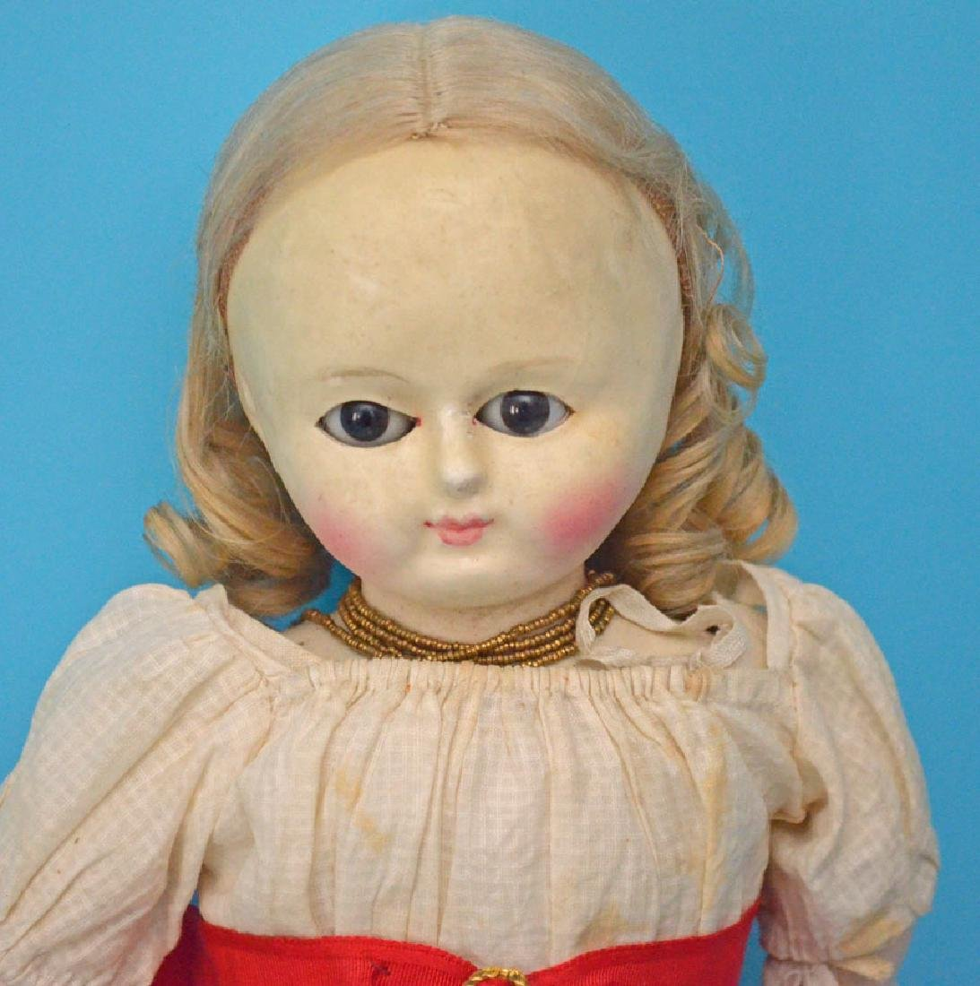 Estate Fresh Antique French Doll - 2