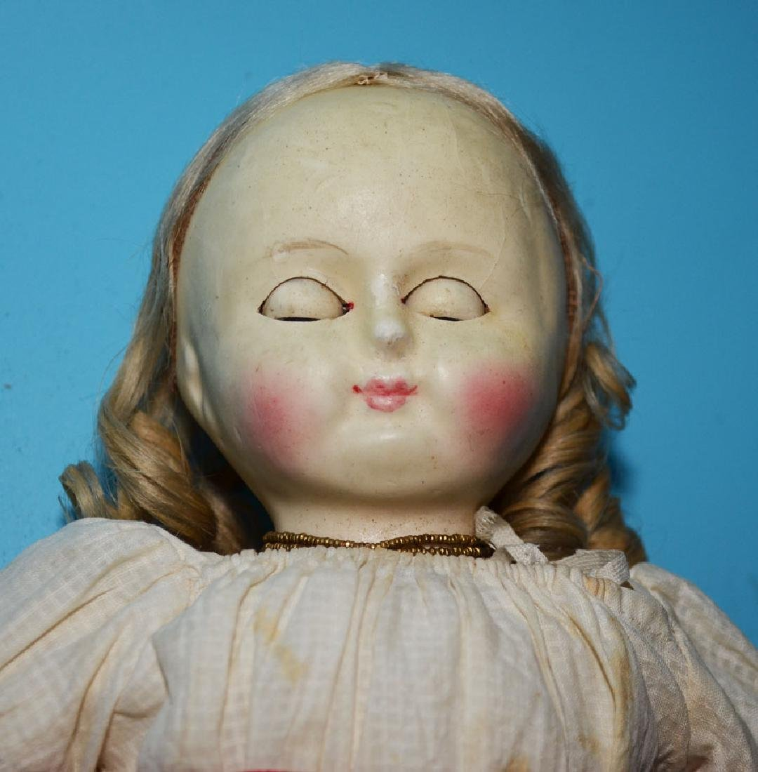 Estate Fresh Antique French Doll - 4