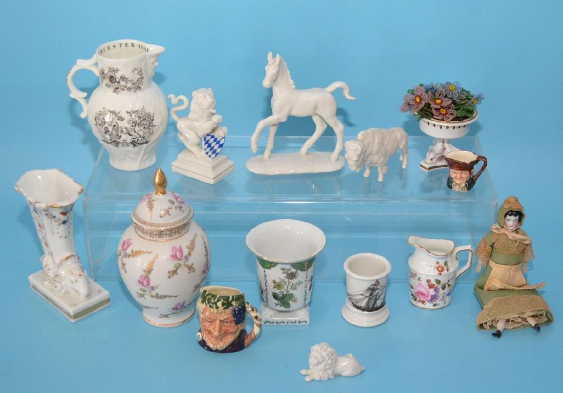 Lot Of Antique Interesting Porcelain Decorative Smalls