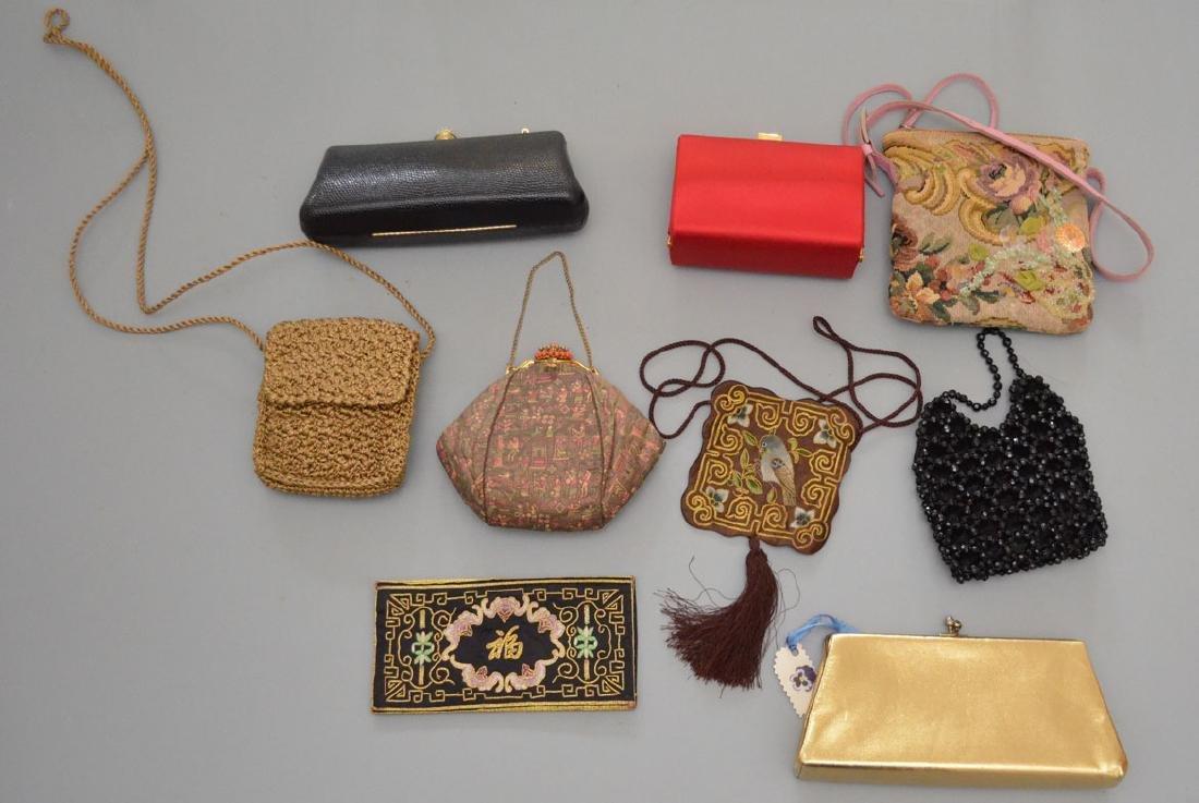 Great Lot of 15 Beaded Evening Bags & Purses