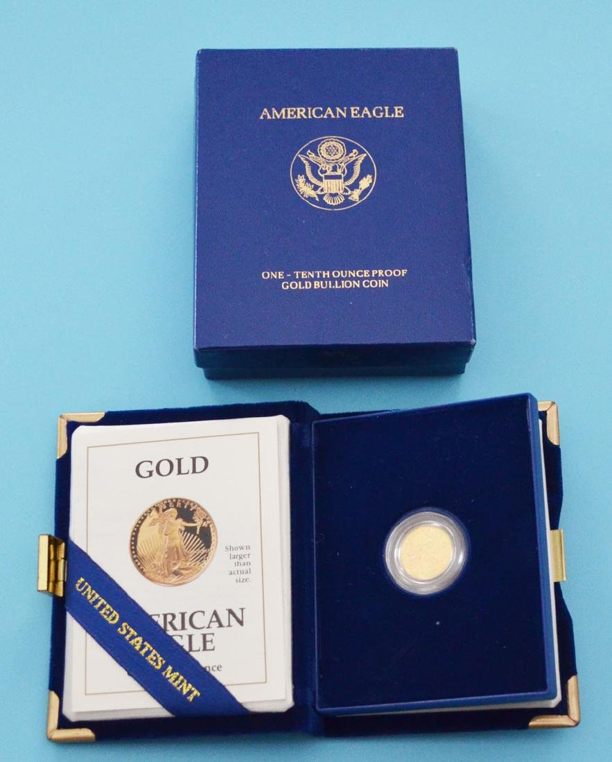 United States Mint Uncirculated Gold Proof Coin