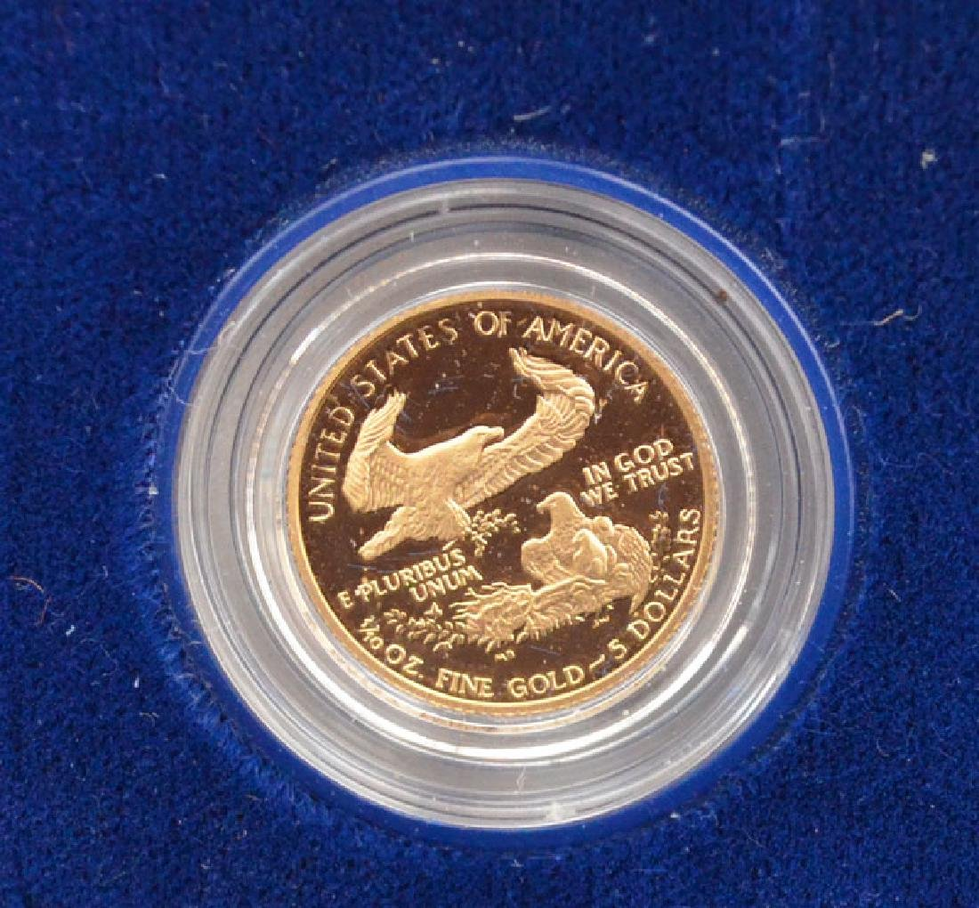 United States Mint Uncirculated Gold Proof Coin - 2