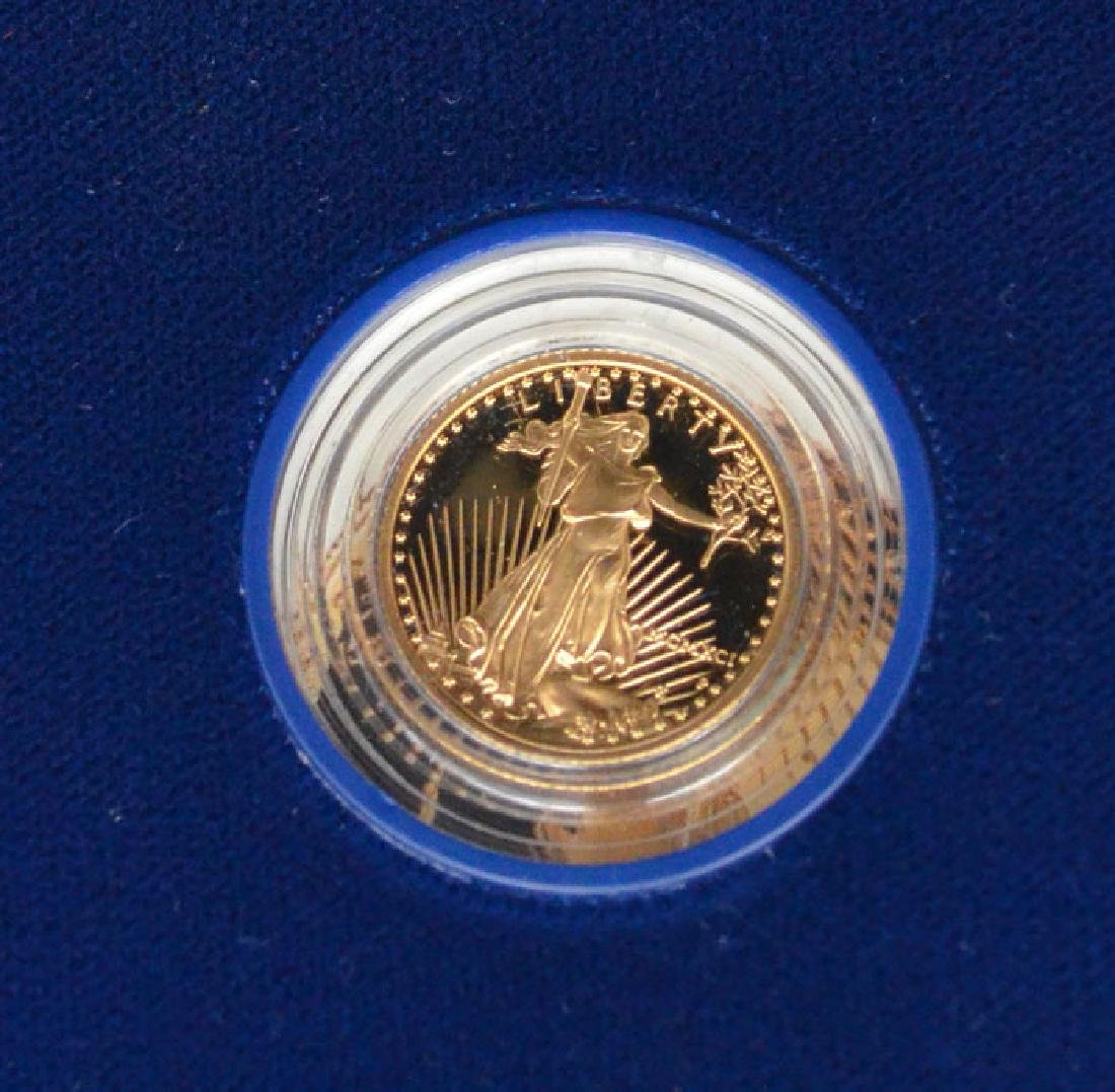 United States Mint Uncirculated Gold Proof Coin - 3