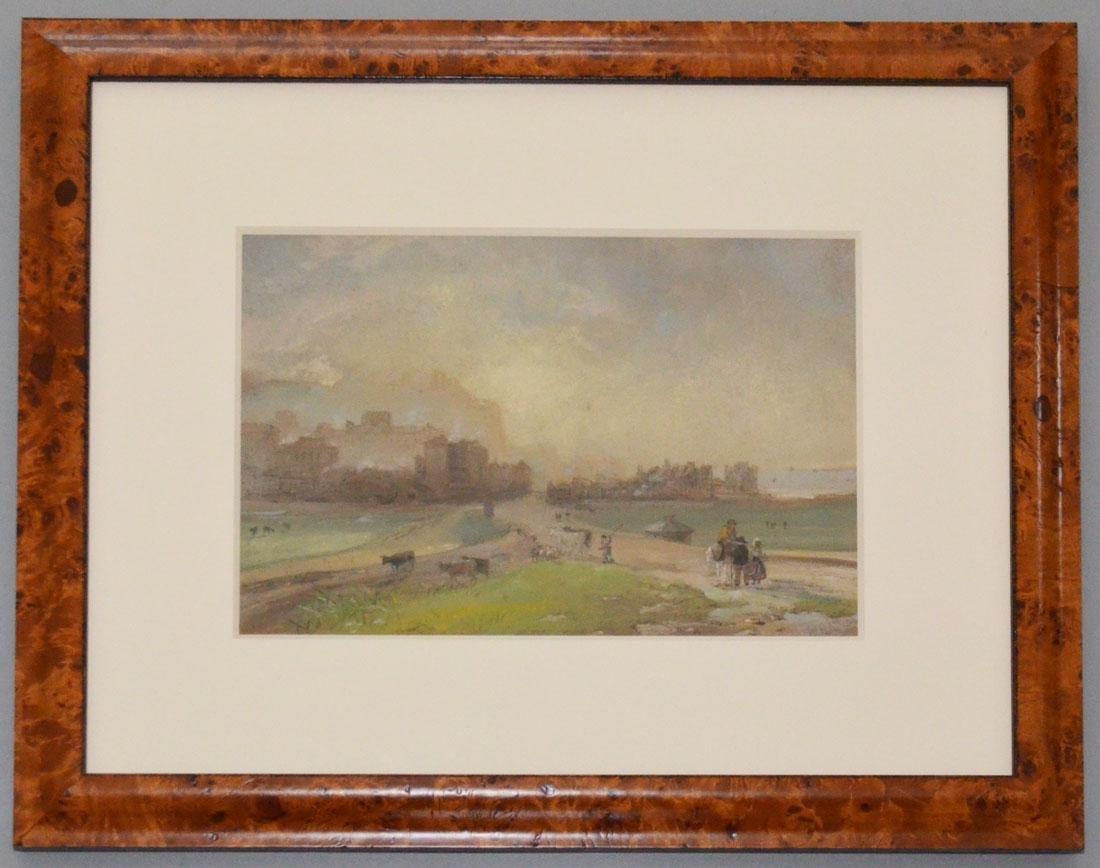 Original Watercolor Seascape Signed William Hunt